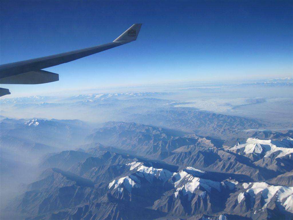 Ankunft in China – Peking