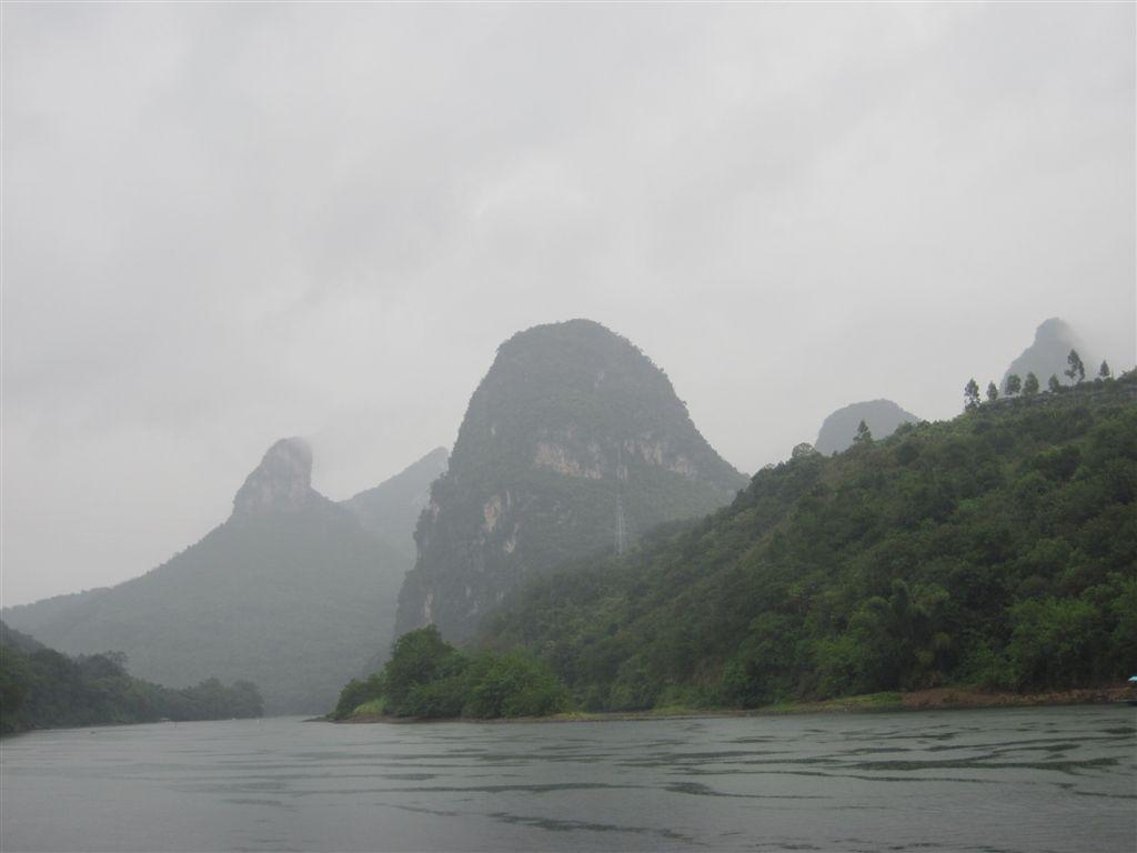 Yangshuo bei Regen