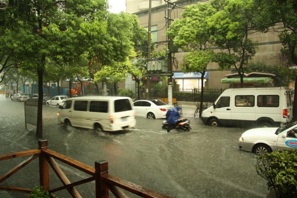 Land unter in Shanghai