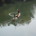 Fischer versuchen ihr Glück