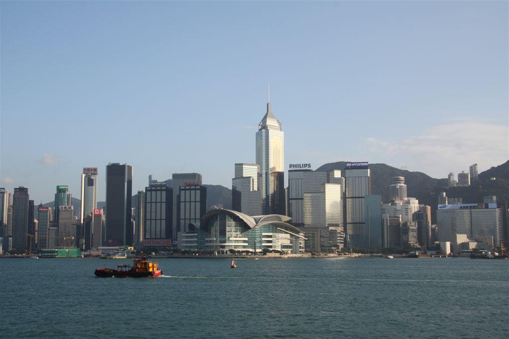 Ankunft in HongKong