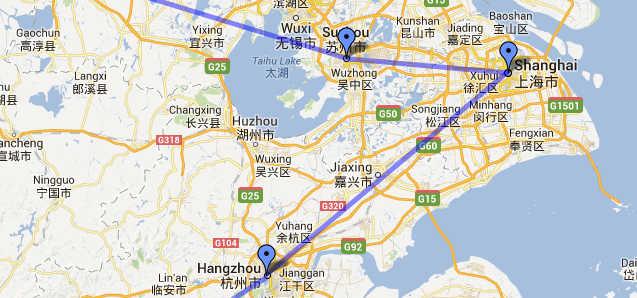Verfolge unsere Route auf der interaktiven Karte
