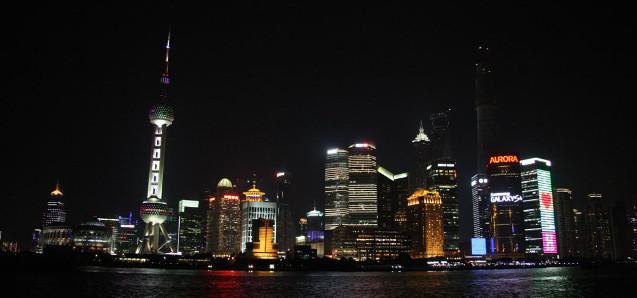 Der Kontrast zu Peking: Shanghai