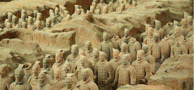 Einfach beeindruckend: Die Terrakotta-Armee
