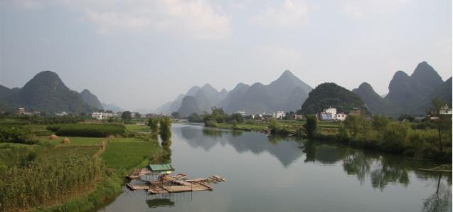 Entspannung pur, im ländlichen Yangshuo