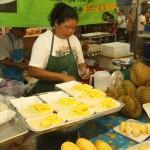 frische Mango mit sticky rice und Kokusmilch