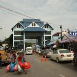 Grenzübergang nach Myanmar (Burma)