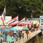 Ein Blick rüben nach Myanmar