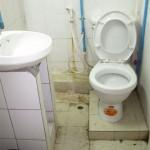 die etwas andere Toilette in Thakek