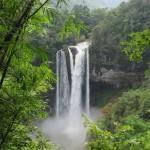 dennoch erreichten wir die herrlichen Wasserfälle (Tat Katamok)