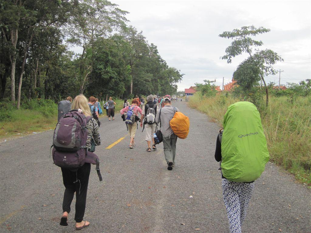 Der lange Weg nach Kambodscha
