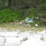 die nicht so schöne Seite von Koh Rong, sehr viel Müll überall!