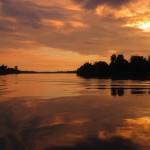 spektakulärer Sonnenuntergang!