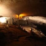 Fußmarsch durch Kong Lor Höhle