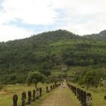 Eingang des Wat Phou
