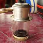 Frisch gebrühter Lao-Coffee