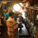 Mr. Vieng beim Latte Macciato Workshop