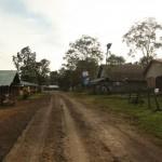 Tad Lo Village am Morgen