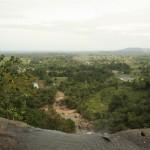 Ausblick vom Tad Lo Wasserfall
