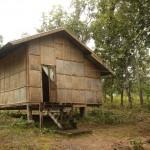 unsere Bambus-Hütte