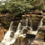Wasserfall am Mt.Bokor