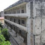Zellengebäude von außen