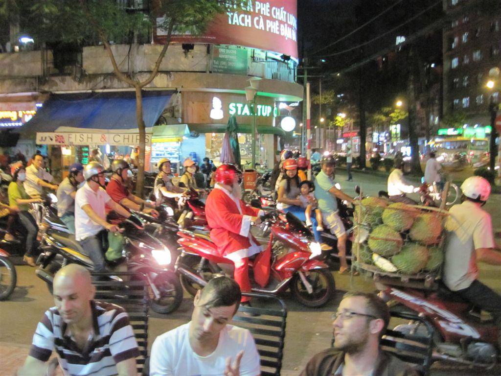 Nikolaus in Ho Chi Minh (Saigon)