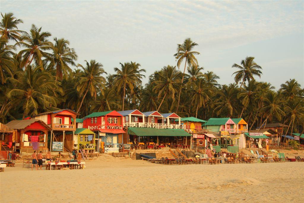 Hippies, Sonne, Meer  – Palolem (Goa)