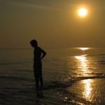Sunset - Beach No. 7 (Radhanagar Beach)