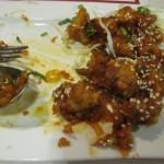 spicy Blumenkohl mit Sesam und Marinade