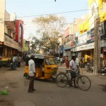 indisches City-Life in Chennai